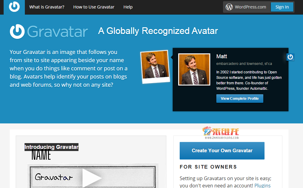 WordPress 2014 Gravatar01
